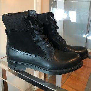Calvin Klein Black Work Boots (8)